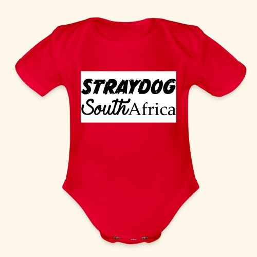 straydog clothing - Organic Short Sleeve Baby Bodysuit