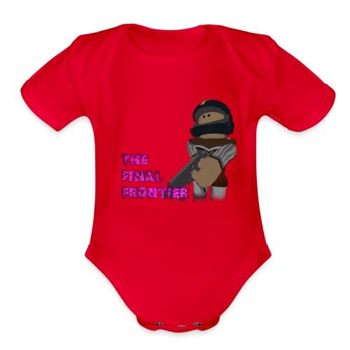 The Final Frontier - Organic Short Sleeve Baby Bodysuit