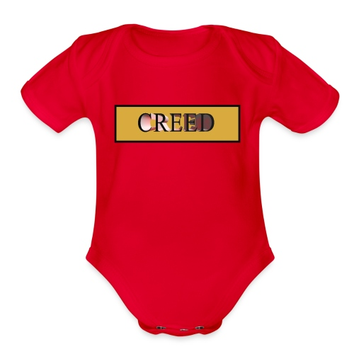 Creed - Gold Collection - Organic Short Sleeve Baby Bodysuit
