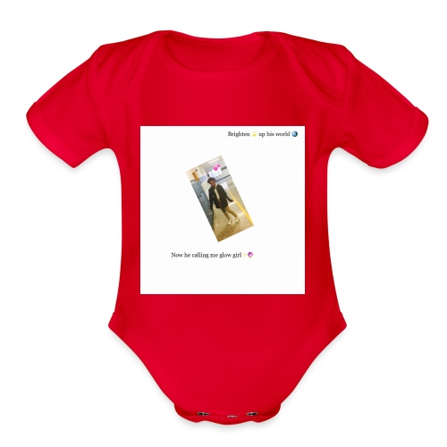 My Quote Tank Top ! 🤯 - Organic Short Sleeve Baby Bodysuit