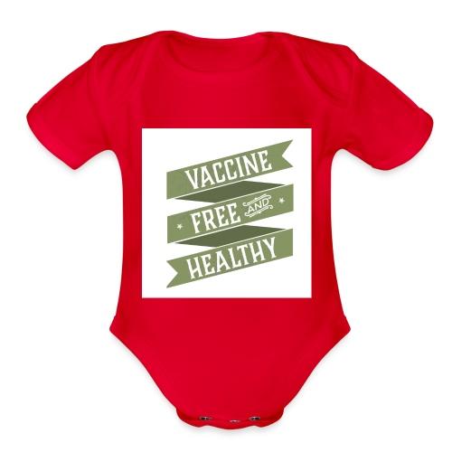 Kids-Design-3 - Organic Short Sleeve Baby Bodysuit