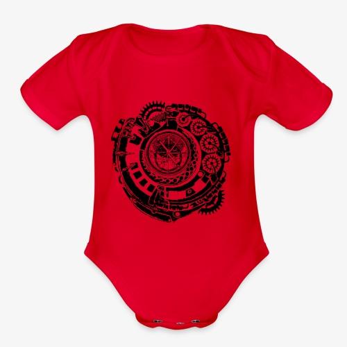 Time Machine - Organic Short Sleeve Baby Bodysuit