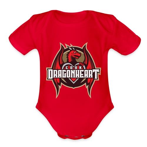 Dragonheart Shoppe - Organic Short Sleeve Baby Bodysuit