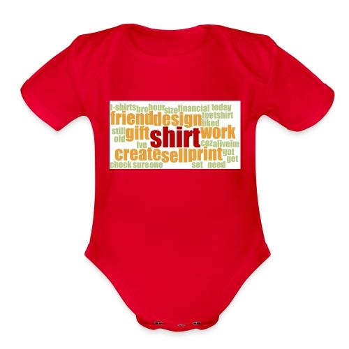 HotjarHomepagePoll2015 - Organic Short Sleeve Baby Bodysuit