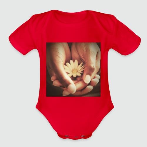 In Loving Hands - Organic Short Sleeve Baby Bodysuit