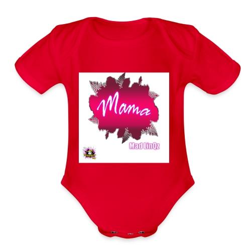 Mama Line - Organic Short Sleeve Baby Bodysuit