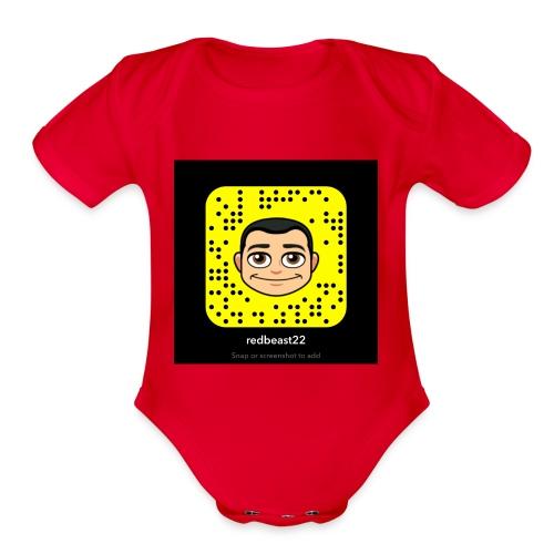 Xander lit - Organic Short Sleeve Baby Bodysuit