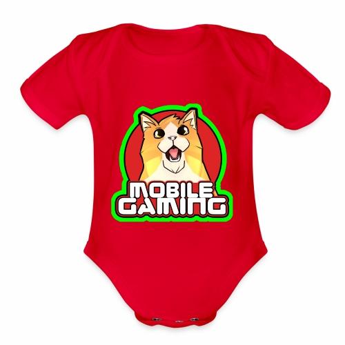 MG LOGO - Organic Short Sleeve Baby Bodysuit