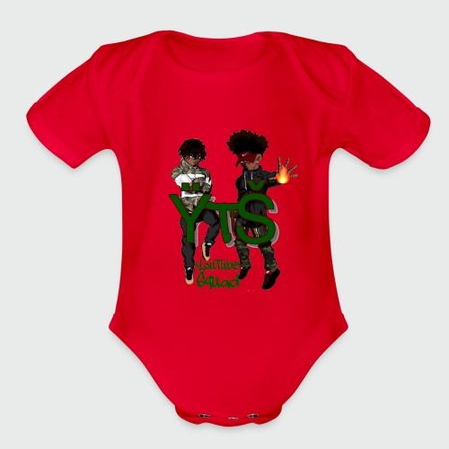 prince yt 334 super deux merchandise - Organic Short Sleeve Baby Bodysuit