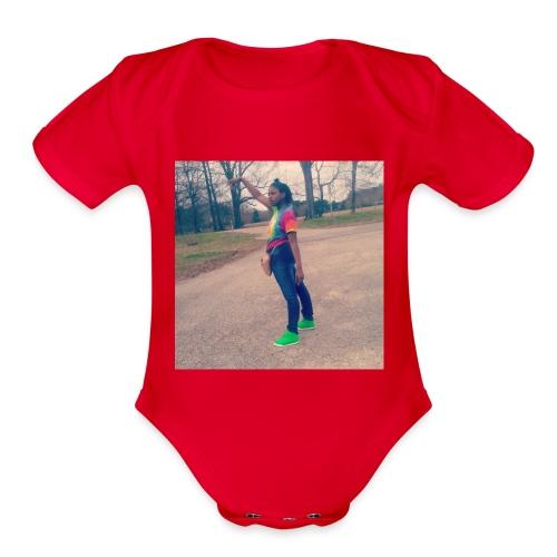 Joker.oriii - Organic Short Sleeve Baby Bodysuit
