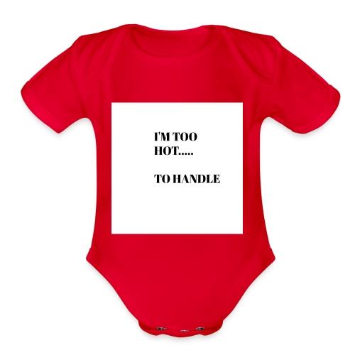 Cool and Flirty Tees - Organic Short Sleeve Baby Bodysuit