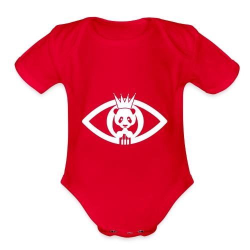 The Duke Studio Logo - Organic Short Sleeve Baby Bodysuit