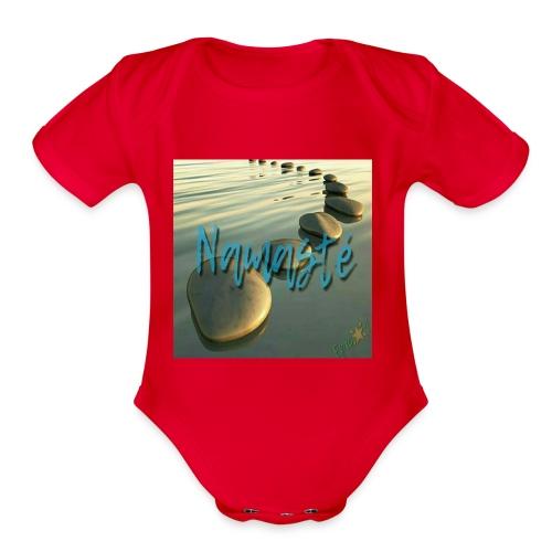 Namasté - Organic Short Sleeve Baby Bodysuit