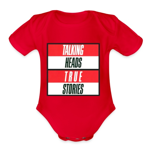 Talking Heads merch - Organic Short Sleeve Baby Bodysuit