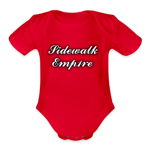 Sidewalk Emp1re - Organic Short Sleeve Baby Bodysuit