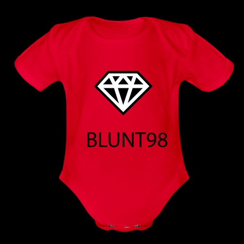 BLUNT98 - Apparel For Creative People - Organic Short Sleeve Baby Bodysuit