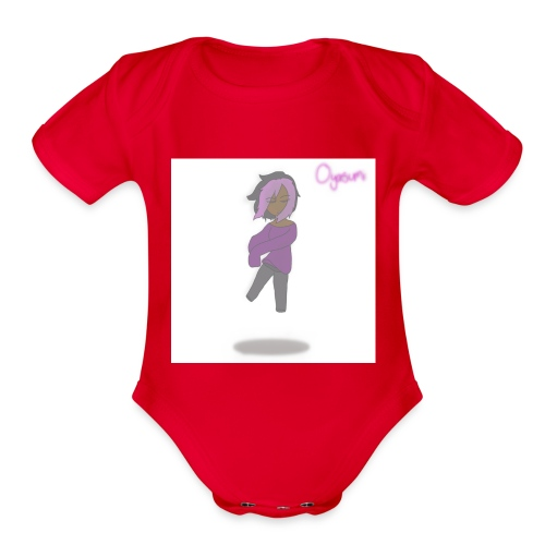 oyasumi - Organic Short Sleeve Baby Bodysuit