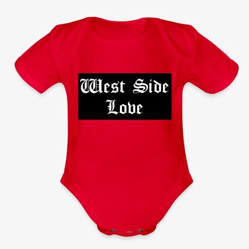 westsidelove - Organic Short Sleeve Baby Bodysuit
