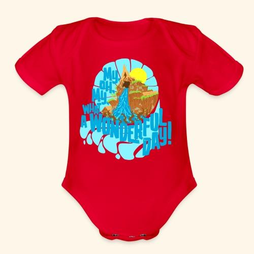splashMT2 - Organic Short Sleeve Baby Bodysuit