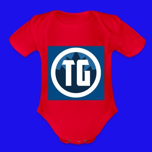 Typical gamer Jr - Organic Short Sleeve Baby Bodysuit