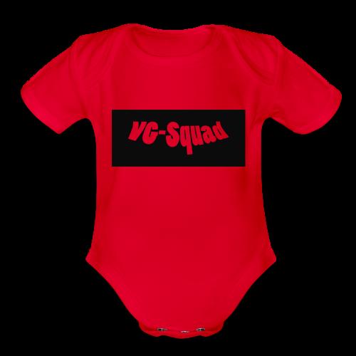 VG-Squad Apperal - Organic Short Sleeve Baby Bodysuit