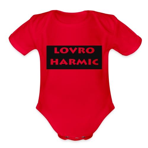 Lovro STUFF - Organic Short Sleeve Baby Bodysuit