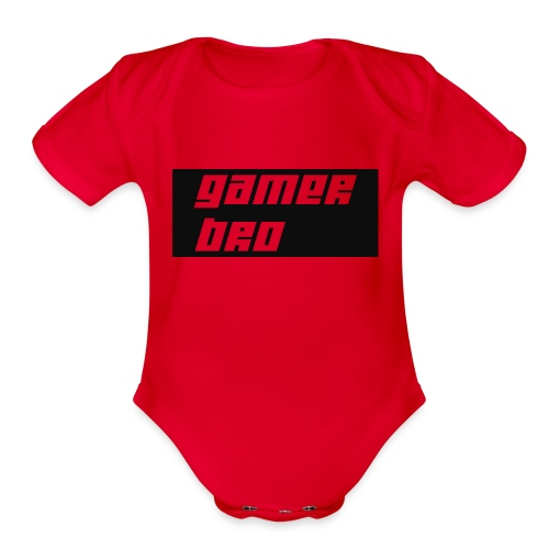Gamer Bro - Organic Short Sleeve Baby Bodysuit