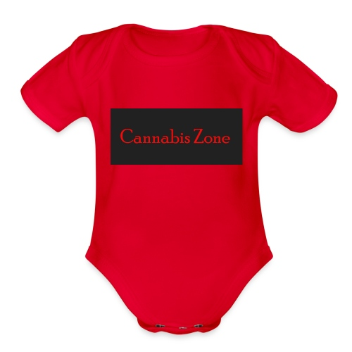 Cannabis Zone - Organic Short Sleeve Baby Bodysuit