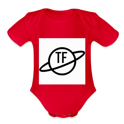 TITAY FORTUNE TF PLANNET MERCH - Organic Short Sleeve Baby Bodysuit