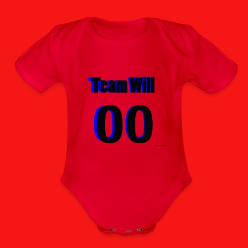 Team Will - Organic Short Sleeve Baby Bodysuit
