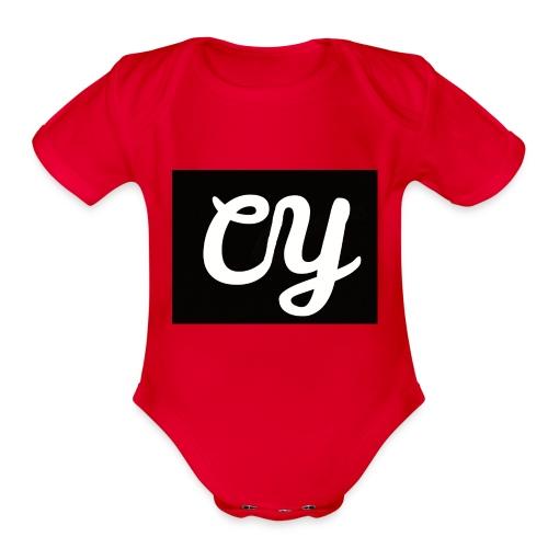 YasdeCaiters Merchandise - Organic Short Sleeve Baby Bodysuit