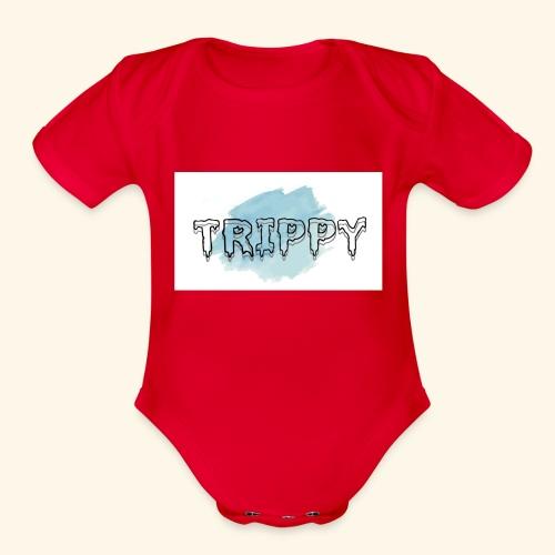 TRIPPY.inc - Organic Short Sleeve Baby Bodysuit