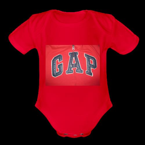 GAP - Organic Short Sleeve Baby Bodysuit