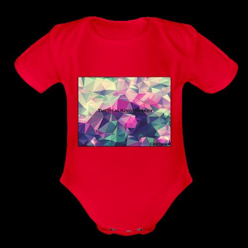certified - Organic Short Sleeve Baby Bodysuit