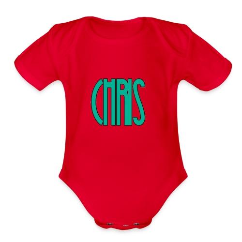 IMG_1557 - Organic Short Sleeve Baby Bodysuit