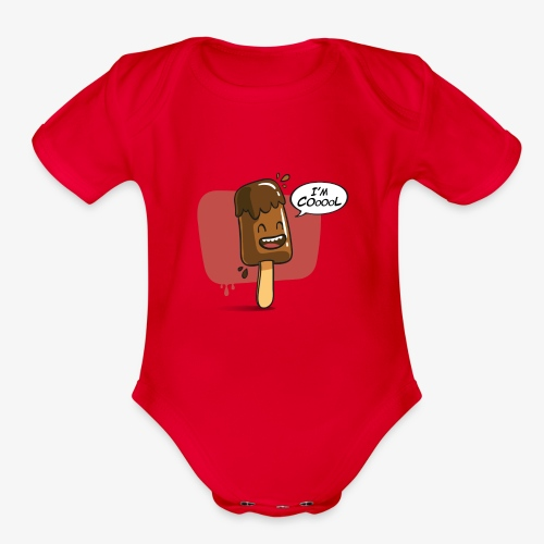 I'm Cool - Organic Short Sleeve Baby Bodysuit