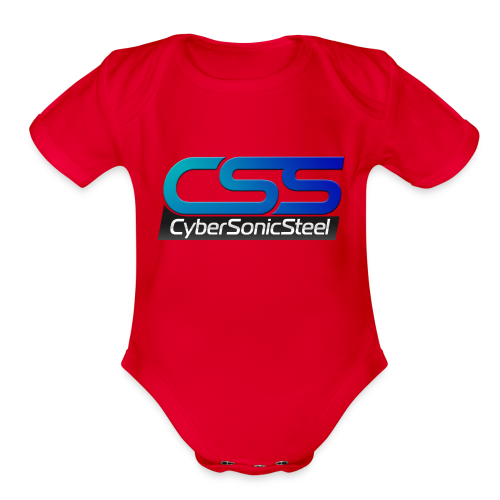 CSS T B - Organic Short Sleeve Baby Bodysuit