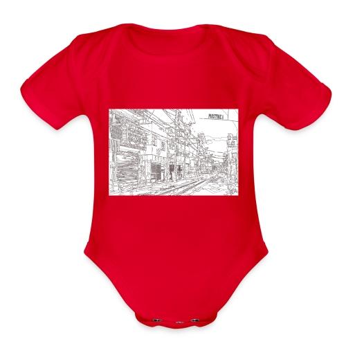 StreetLines - Organic Short Sleeve Baby Bodysuit
