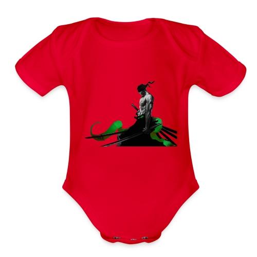 Roronoa Zoro - Organic Short Sleeve Baby Bodysuit