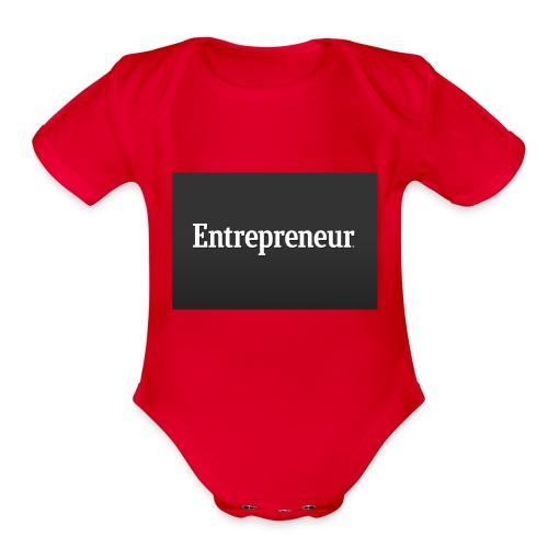 Entrepreneur - Organic Short Sleeve Baby Bodysuit