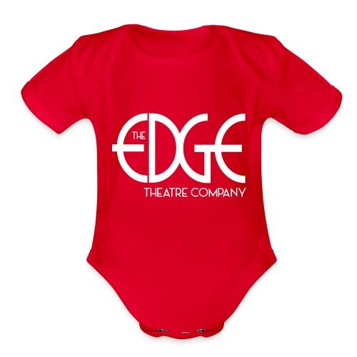 logo_white - Organic Short Sleeve Baby Bodysuit