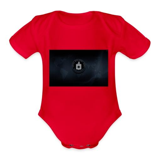 SkcS1vl - Organic Short Sleeve Baby Bodysuit