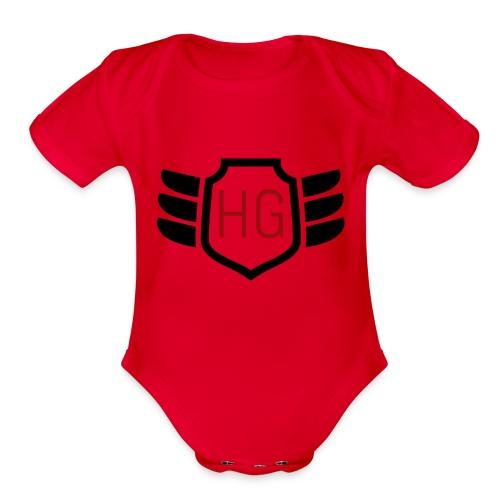 Humanity - Organic Short Sleeve Baby Bodysuit