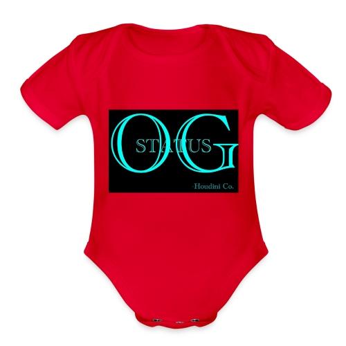 OG Status - Organic Short Sleeve Baby Bodysuit