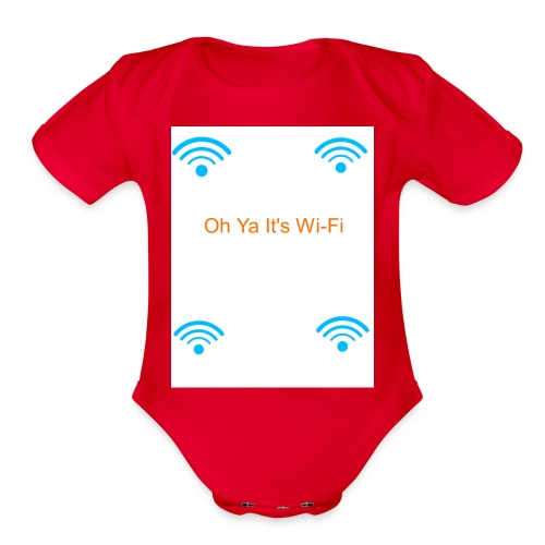 Cool Nation - Organic Short Sleeve Baby Bodysuit