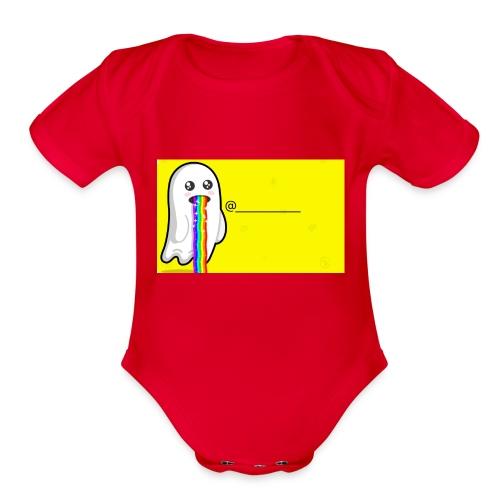 Snapchat - Organic Short Sleeve Baby Bodysuit