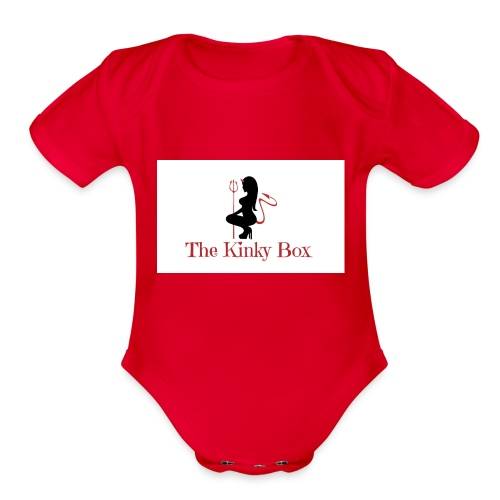 The Kinky Box - Organic Short Sleeve Baby Bodysuit