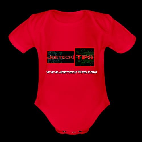 JoeteckTips - Organic Short Sleeve Baby Bodysuit