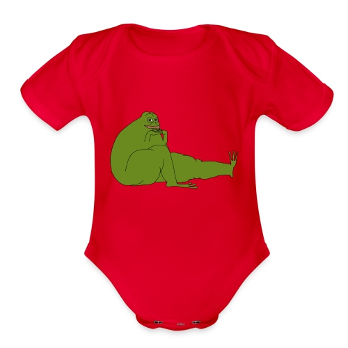 Smug Pepe - Organic Short Sleeve Baby Bodysuit