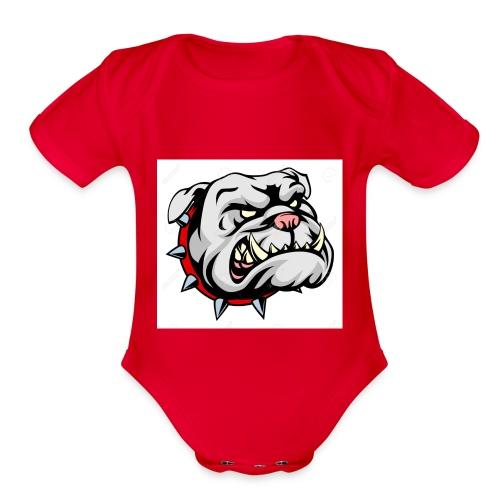 PERROGANG - Organic Short Sleeve Baby Bodysuit